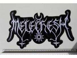 MELECHESH - WHITE NAME LOGO