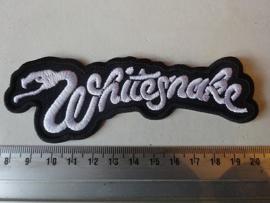 WHITESNAKE - LOGO +NAME SHAPED