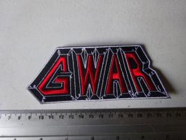 GWAR - RED/WHITE/BLACK LOGO
