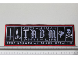 TAAKE - ANTI - HUMAN ( RED BORDER )