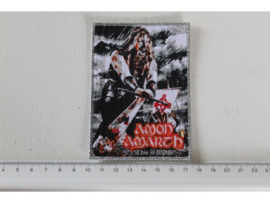 AMON AMARTH - THIS IS WAR ( SILVER BORDER ) WOVEN