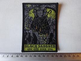 BLACK SABBATH - THE END TOUR 2016 ( WOVEN )
