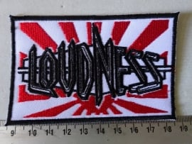 LOUDNESS - LIGHTNING STRIKES ( BLACK BORDER  )