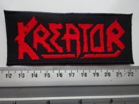 KREATOR - RED LOGO