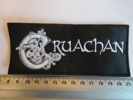 CRUACHAN - WHITE NAME LOGO