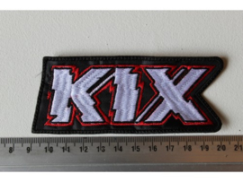 KIX - WHITE/RED NAME LOGO