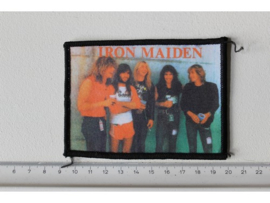 IRON MAIDEN - GROUP PHOTO ( ORIGINAL 80'S ) PRINT