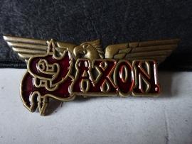 SAXON - LOGO + WINGS