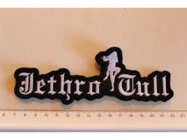 JETHRO TULL - WHITE NAME LOGO