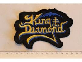 KING DIAMOND - BLUE/YELLOW NAME LOGO
