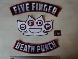 FIVE FINGER DEATH PUNCH - 4 PIECE LOGO