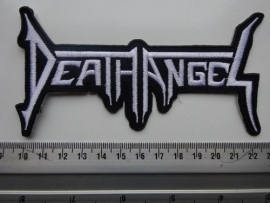 DEATH ANGEL - WHITE LOGO