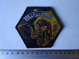 MOTORHEAD - ORGASMATRON ( BLACK BORDER ) WOVEN