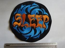SLEEP - ORANGE LOGO