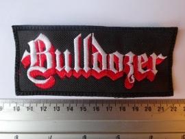 BULLDOZER - WHITE/RED LOGO