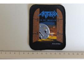ANTHRAX  - IN MY WORLD ( ORIGINAL 80'S )