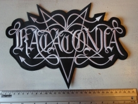 KATATONIA - WHITE LOGO