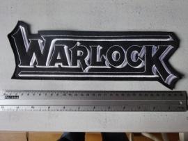 WARLOCK - BLACK/WHITE LOGO
