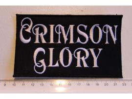 CRIMSON GLORY - WHITE NAME LOGO