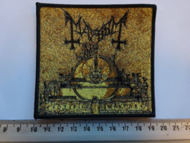 MAYHEM - ESOTERIC WARFARE ( BLACK BORDER ) WOVEN