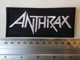 ANTHRAX - WHITE LOGO ( UNCUT )