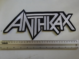 ANTHRAX - WHITE LOGO