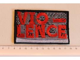 VIO-LENCE - RED NAME LOGO