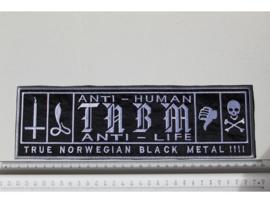 TAAKE - ANTI - HUMAN ( GREY BORDER )