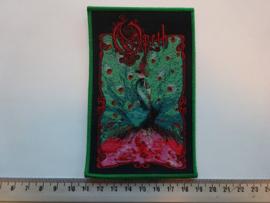 OPETH - SORCERESS ( GREEN BORDER ) WOVEN