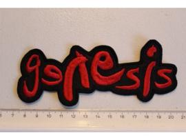 GENESIS - RED NAME LOGO
