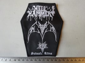 HELLHAMMER - SATANIC RITES ( COFFIN SHAPED )
