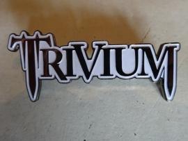TRIVIUM - WHITE NAME LOGO