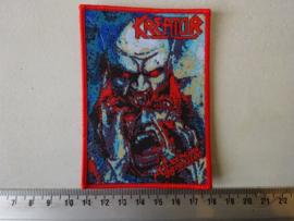 KREATOR - EXTREME AGGRESSION ( WOVEN, RED BORDER ) NUMBERED.