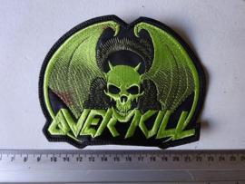 OVERKILL - GREEN NAME LOGO + GREEN BAT