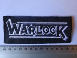 WARLOCK - WHITE LOGO