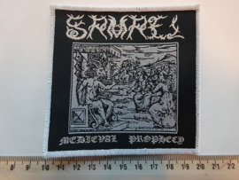 SAMAEL - MEDIEVAL PROPHECY ( WHITE BORDER ) WOVEN
