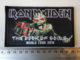 IRON MAIDEN - THE BOOK OF SOULS TOUR 2016 ( WOVEN )