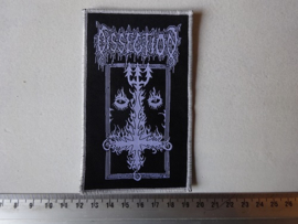 DISSECTION - THE PAST IS ALIVE ( WOVEN )  WHITE BORDER