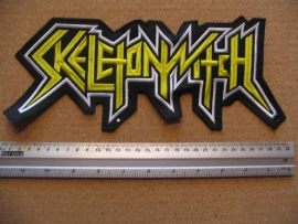 SKELETONWITCH - YELLOW LOGO