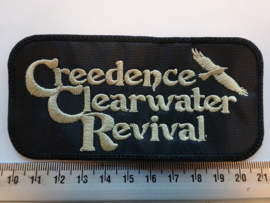 CREEDENCE CLEARWATER REVIVAL - BEIGE NAME LOGO