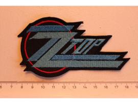 ZZ TOP - BLUE/RED NAME LOGO