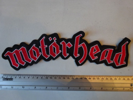 MOTORHEAD - RED/WHITE NAME LOGO