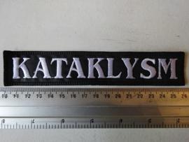 KATAKLYSM - WHITE NEW LOGO ( UNCUT )