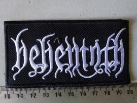 BEHEMOTH - WHITE NAME LOGO