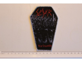 SLAYER - WAR ENSEMBLE ( SILVER BORDER ) WOVEN