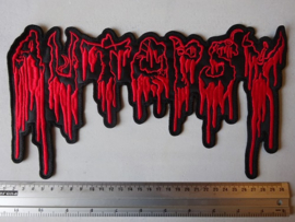 AUTOPSY - LOGO RED