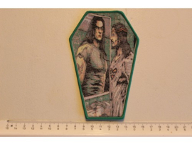 TYPE O NEGATIVE - LOOK AT YOURSELF ( GREEN BORDER ) WOVEN