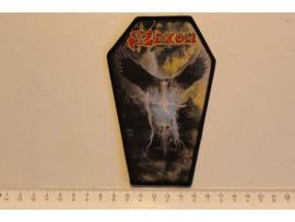 SAXON - THUNDERBOLT ( BLACK BORDER ) WOVEN