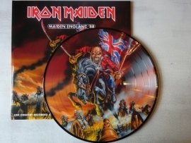IRON MAIDEN - MAIDEN ENGLAND '88 ( PICTURE DISC )