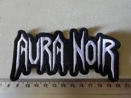 AURA NOIR - SHAPED  WHITE LOGO